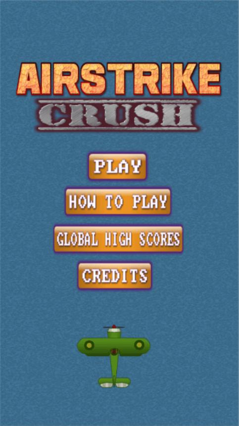 main menu airstrike crush